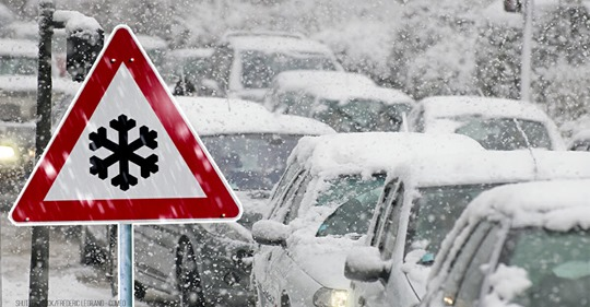 Winter Stürme Zehra und Bianca bringen Schnee, Gewitter und Sturmböen – Bis zu 110 km/h